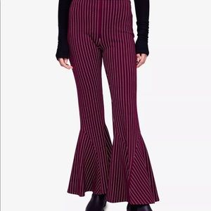 Free People striped dress bellbottoms size 4